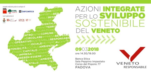 Azioni integrate per lo sviluppo sostenibile del Veneto