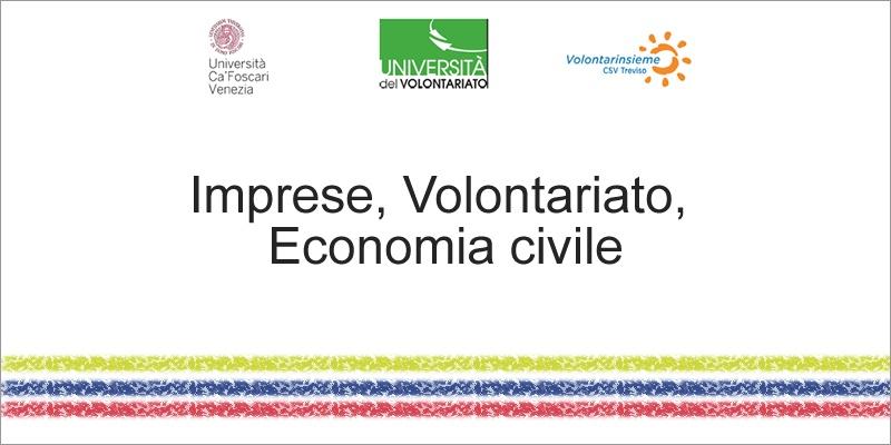 Imprese, Volontariato, Economia civile - Università del Volontariato