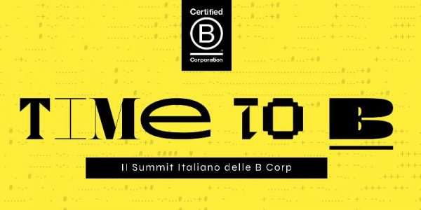Time to B - Il Summit virtuale delle B Corp